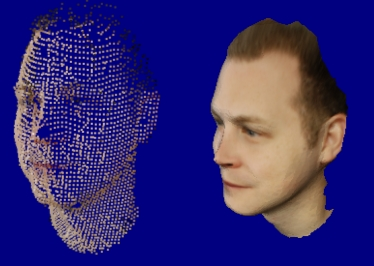 How to model a human face with PhotoModeler Scanner 9