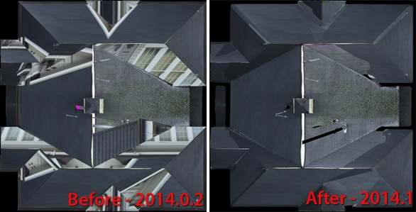 2014.1 Orthophoto occlusion checking
