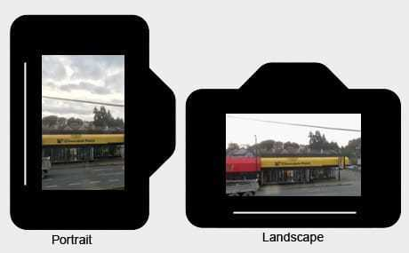 how to change a video from portrait to landscape