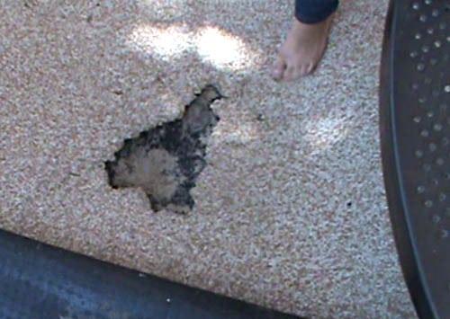 Playground fault forensic image