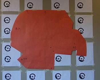 Wall template reusable setup