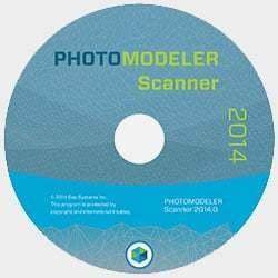 PhotoModeler 2014 CD
