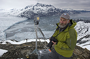 Dr Tad Pfeffer Using Photogrammetry At The Columbia Glacier