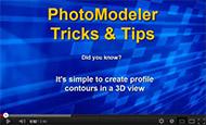PhotoModeler Create 3D Profile Video