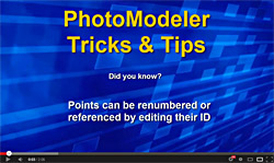 PhotoModeler Tip Video #43